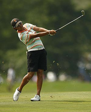 Tseng birdied four of the first eight holes on Sunday.