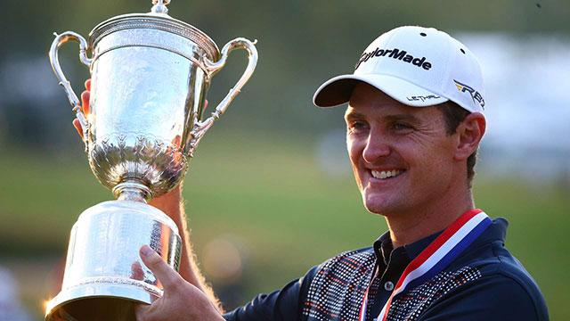 Justin Rose won the 2013 U.S. Open at Merion.