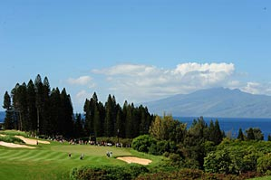 """Players praised the scenic Plantation course at Kapalua. """"It's simply a                 fun, fun course,"""" said Zach Johnson."""