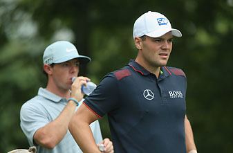 Martin Kaymer and Rory McIlroy -- seen here at the 2014 PGA Championship -- will bring their major championship form to the European Ryder Cup team next month.
