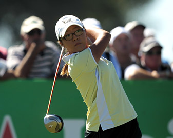 Fourteen-year-old Lydia Ko shot a 69 in the first round.