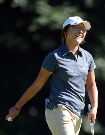 Lydia Ko, 15, could become the youngest LPGA winner on Sunday.