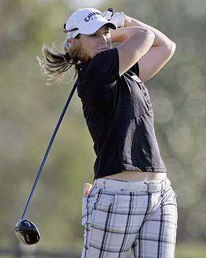 Kristy McPherson shot 67 on Sunday.