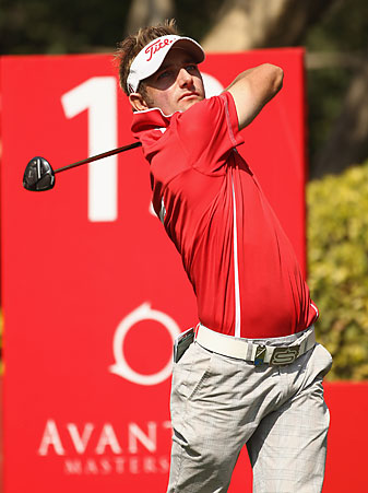 Jbe Kruger made two eagles and two birdies.