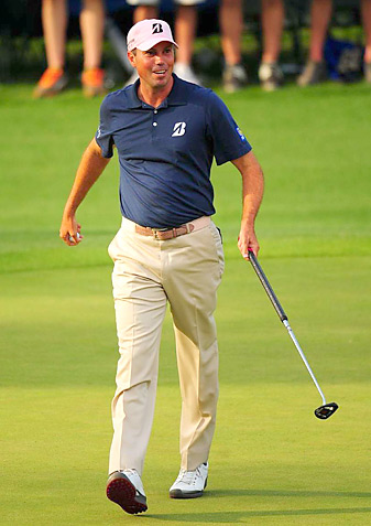 """Matt Kuchar says, """"I think it's going to be trial-and-error.''"""