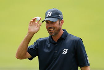Matt Kuchar made five birdies and three bogeys on Saturday.