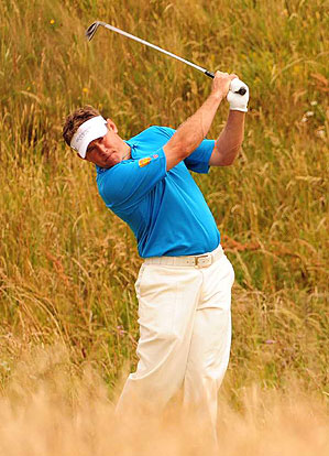 Lee Westwood shot a two-under 68.