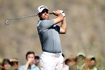Lee Westwood has yet to win a major or a World Golf Championship event.