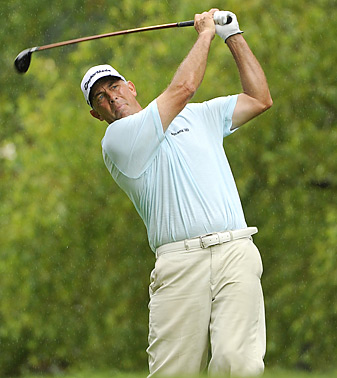 Tom Lehman made five birdies and an eagle.