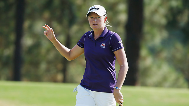 Stacy Lewis is the world's top-ranked female golfer.