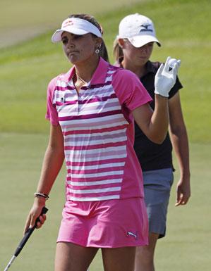 Lexi Thompson won her first LPGA event on Sunday.