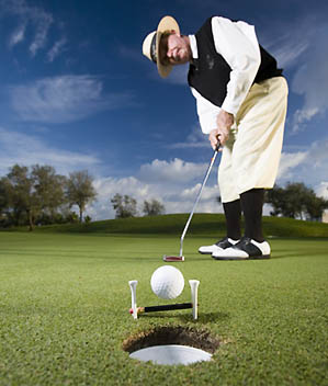 How to Roll Putts with the Right Speed, main tout image, pg 66 05/07