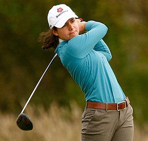Lorena Ochoa shot 66 in the first round.