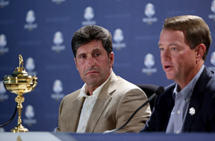 Jose Maria Olazabal and Davis Love III have a long history that goes back to the 1993 Ryder Cup.