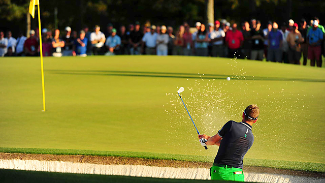 Luke Donald was very pleased to finish the second round at even par for the tournament.