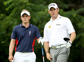 Donald and Westwood both wish to become the first Englishman to win the Players in its 38-year history.