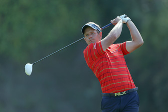 Luke Donald made seven birdies and two bogeys.