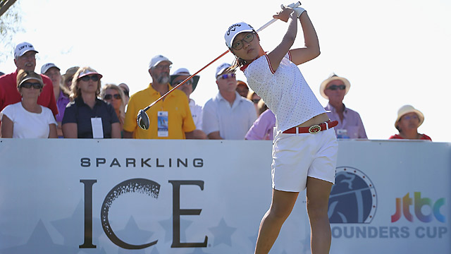 Lydia Ko's 67 was good enough for a one-shot lead.