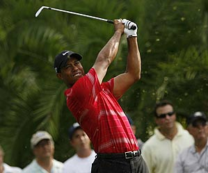Woods could only manage a third-round 72.