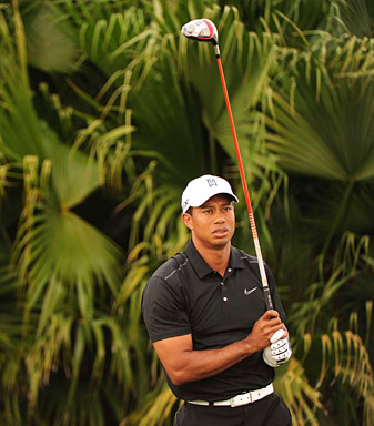 "In his book, Haney says of Woods, ""In Tiger's mind, satisfaction is the enemy of success."""