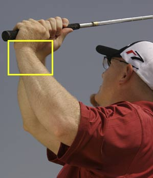Keep the cup in your left wrist to hit extra-high, extra-soft flops.
