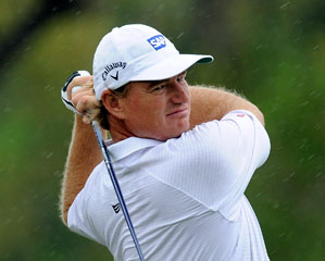 Ernie Els is the the South African Open's defending champion.