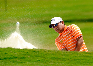 Prayad Marksaeng grew up in poverty in Thailand, but he is in contention this week at Doral.