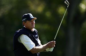 Nick Price has yet to win on the Champions Tour.