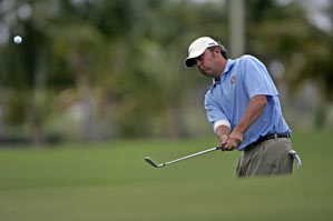 Bo Van Pelt made six birdies and two bogeys on Friday.