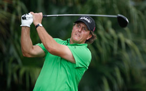 Phil Mickelson has one top 10 in five events this season.