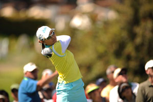 Hee Kyung Seo won playing on a sponsor's exemption.