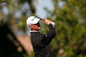 Nathan Green made five birdies and no bogeys on Thursday.