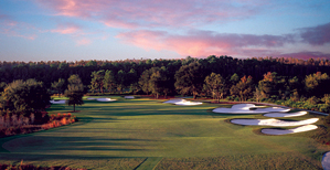 The Greg Norman-designed course at Grande Lakes
