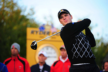 Germany's Martin Kaymer has won a point and a half in his first two matches.