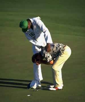 Ben Crenshaw won his second Masters in 1995.
