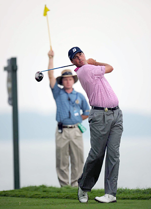 Matt Kuchar backed up his first-round 67 with a 69 on Friday.