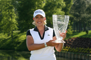 Cristie Kerr shot a one-under 70 to win by two shots.