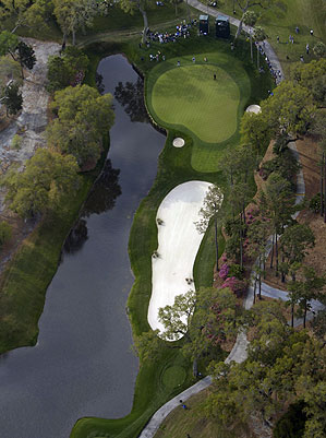 No. 13 at TPC Sawgrass