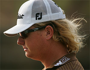 Charley Hoffman shot 69 in his second round at the Players Championship.