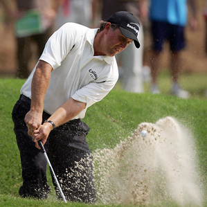 Phil Mickelson's best finish at the Players was a tied for third in 2004.