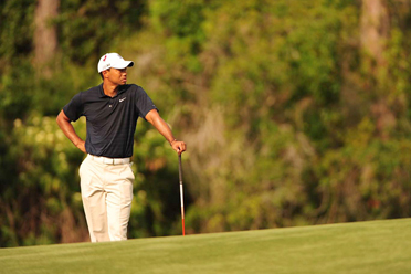 Woods withdrew after shooting 42 on the front nine at the Stadium Course at TPC Sawgrass on Thursday.