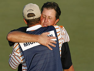 Phil Mickelson finished with a final-round 69.