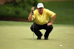 Billy Mayfair made three birdies and two bogeys on Saturday.