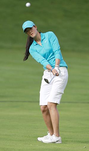 Michelle Wie beat Anna Nordqvist in 20 holes.