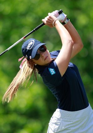 Paula Creamer beat Brittany Lang, 3 and 2.