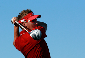 Ian Poulter beat Lee Westwood and Francesco Molinari on Saturday.