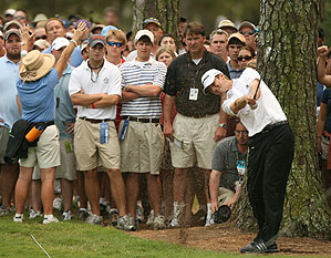 Mickelson passed O'Hair early in the final round, but he couldn't shake him until the very end.