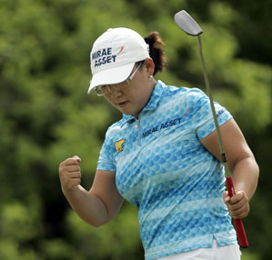 Last year Jiyai Shin became the first South Korean to win the Evian Masters.