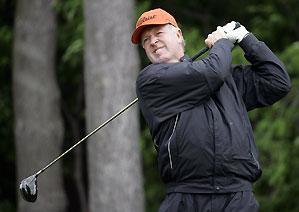 Denis Watson is the defending champion at the Senior PGA.