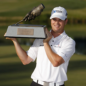 Zach Johnson's win last week moved him from sixth to fourth in the power rankings.